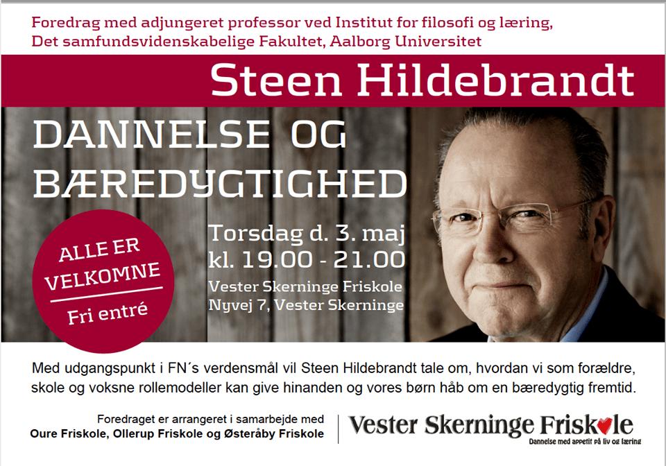 Åbent foredrag med Steen Hildebrandt