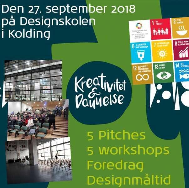 Kreativitet, dannelse og bæredygtighed 2018