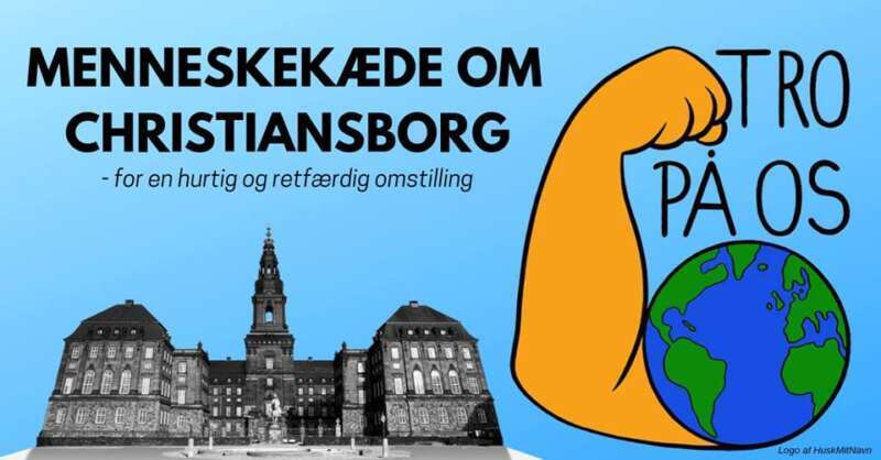 TRO PÅ OS: Menneskekæde om Christiansborg