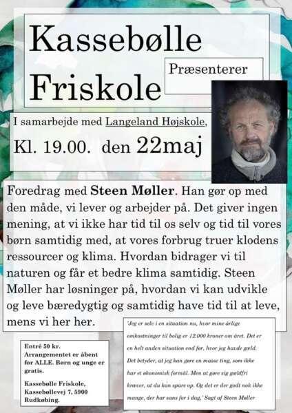 Foredrag med Steen Møller på Kassebølle Friskole