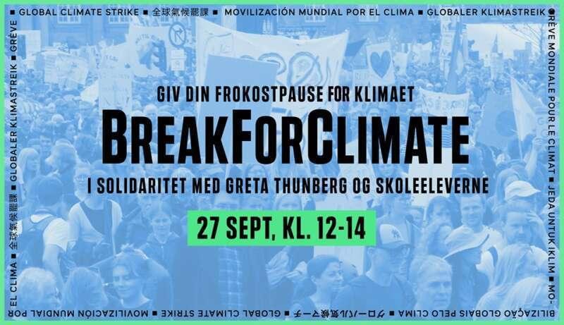 Break For Climate – 27. September i København