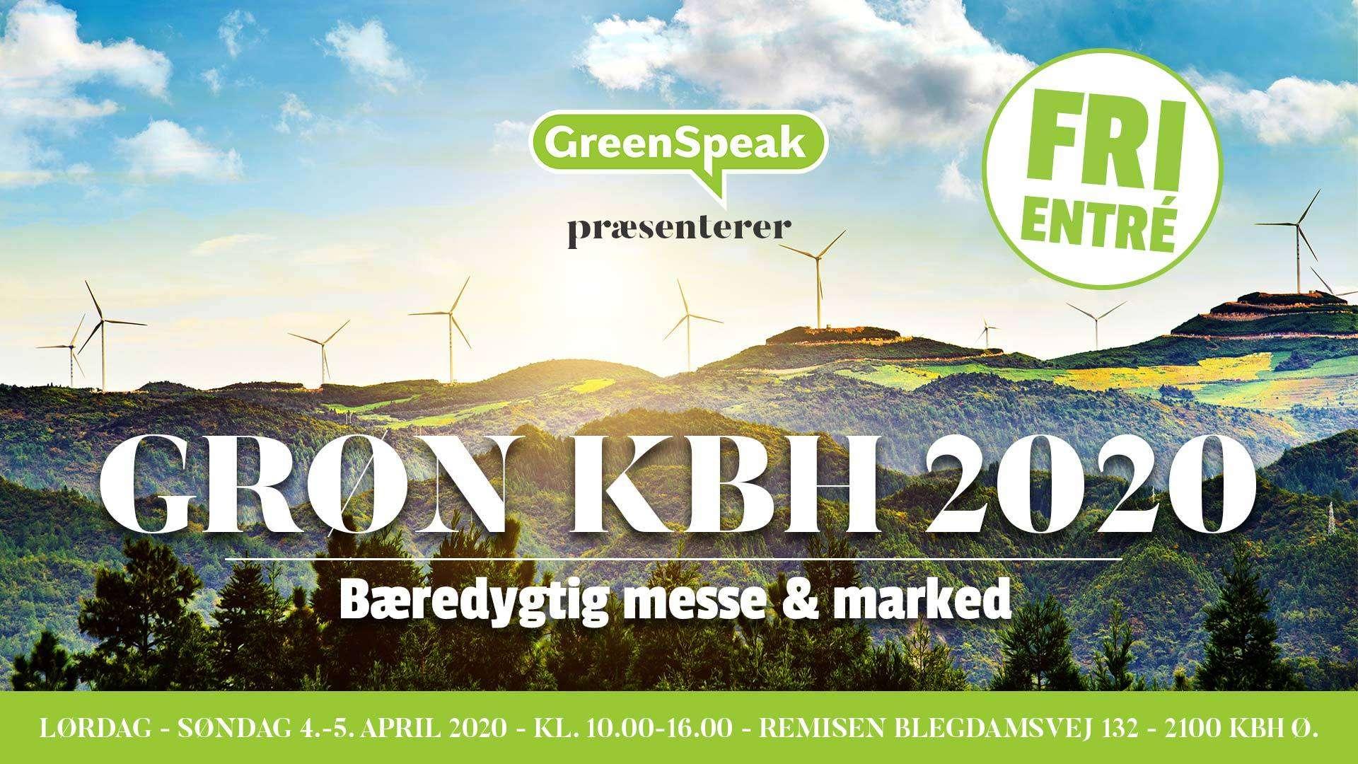 GRØN KBH 2020 – Bæredygtig messe og marked