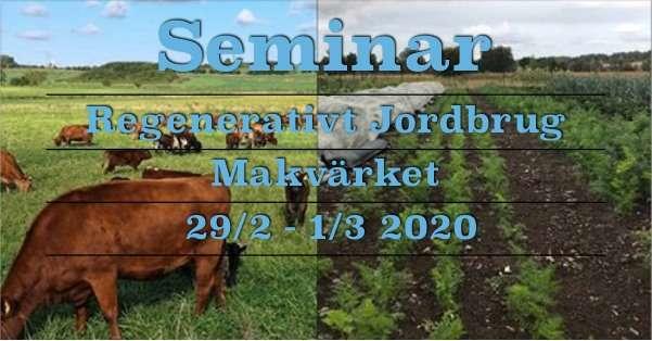 Seminar 2.0 forår 2020 – Regenerativt Jordbrug