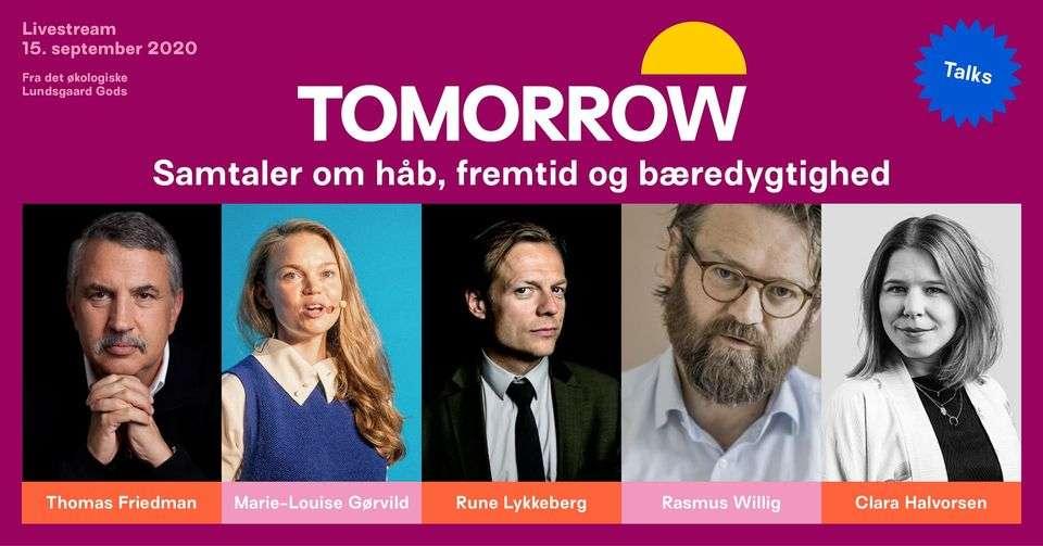 TOMORROW TALKS – Samtaler om håb, fremtid og bæredygtighed