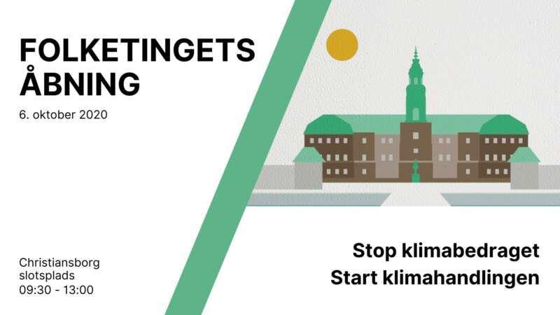 Folketingets Åbning – Stop Klimabedraget
