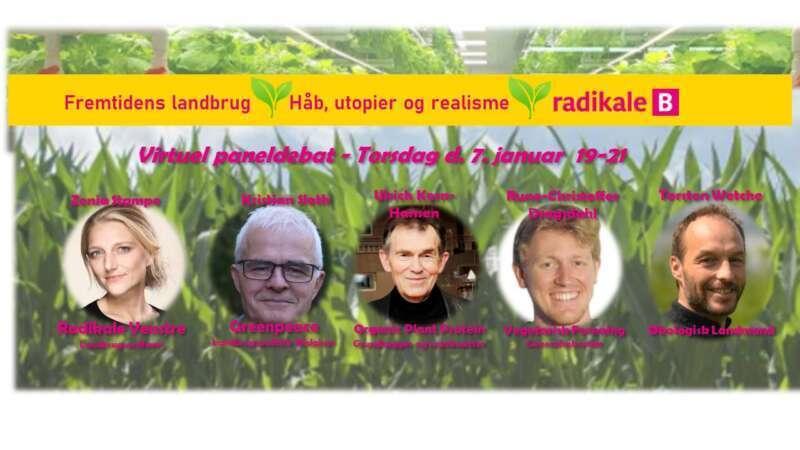 Fremtidens landbrug – Virtuel paneldebat