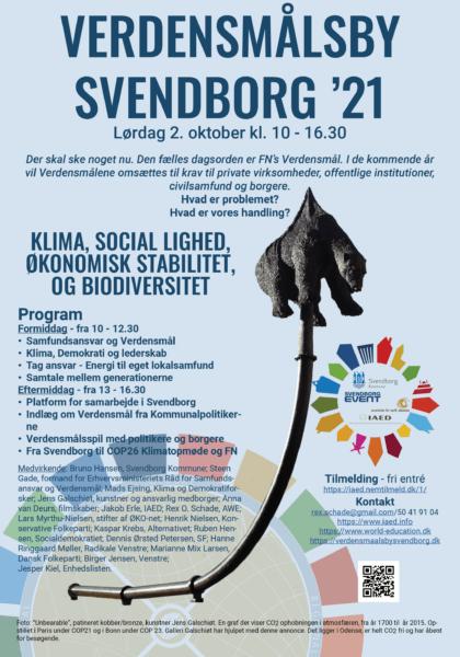 Klima, social lighed, økonomisk stabilitet og biodiversitet – Verdensmålsby Svendborg ´21
